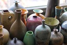 céramique vases et ikebana