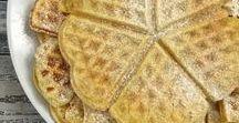 Waffeln, Pfannkuchen und Co. / Waffeln, Pfannkuchen, Pancakes, Kaiserschmarrn - Genuss aus Pfanne und Waffeleisen in süß und herzhaft.