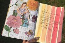 art journal/sketchbook ideas