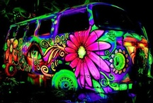 Hippie Chic / Caravans and Camper Vans, Beetles, Love & Peace! An ideal way of life.