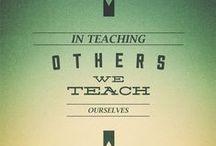 Teaching / It is the supreme art of the teacher to awaken joy in creative expression and knowledge. Albert Einstein