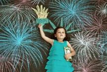 a sizzlin summer / Creative ways to keep the kids entertained during the summer season