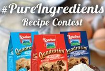 Loacker Recipe Contest / We challenged our favorite food bloggers to create a unique recipe incorporating one or more flavors of our Quadratini wafers. Vote for your favorite Loacker Quadratini recipe by repinning recipe images with the hashtag #pureingredients. Voting begins April 14th and ends May 4th, so get pinning! / by Loacker USA