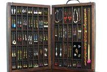 Jewelry display / Идеи хранения украшений