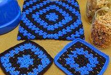 potholders / crochet potholders