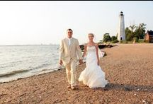 Lighthouse Point State Park / The Carousel / Connecticut Wedding Photography