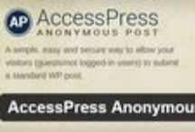 AccessPress Anonymous Post - A Free WordPress Plugin / AccessPress Anonymous Post - is a FREE WordPress Plugin by AccessPress Themes. Details: http://accesspressthemes.com/wordpress-plugins/accesspress-anonymous-post/ Demo: http://accesspressthemes.com/demo/wordpress-plugins/accesspress-anonymous-post/ Download: https://wordpress.org/plugins/accesspress-anonymous-post/