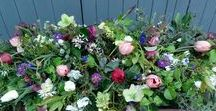 Funeral and Memorial Tributes / Funeral.  http://www.yorkshiredalesflowers.co.uk/