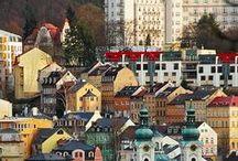 Karlovy Vary - moje rodné město / Největší lázeňské město v České republice známé také výrobou skla a porcelánu,bylinným likérem a mezinárodním filmovým festivalem