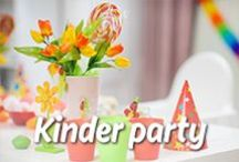 Kinder party / Pomysły na kreatywne przyjęcia dla najmłodszych! Zainspiruj się z Mission Wraps!