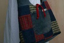 Сумка деним / Сумки из джинсовой ткани, из джинсов, из брюк, которые можно сшить своими руками.