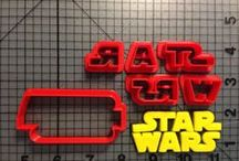 Star Wars Items / Vist jbcookiecutters.com to view all of our Star Wars themed items. Our items include cookie cutters, stencils, stamps, silicone molds, rolling pins, plungers and many more!