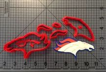Sports Items / Vist jbcookiecutters.com to view all of our Sports themed items. Our items include cookie cutters, stencils, stamps, silicone molds, rolling pins, plungers and many more!