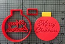 Christmas / Vist jbcookiecutters.com to view all of our Holiday themed items. Our items include cookie cutters, stencils, stamps, silicone molds, rolling pins, plungers and many more!