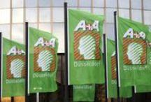 A+A / Allestimenti realizzati da Honegger in occasione della Fiera A+A a Düsseldorf.
