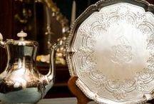 Argento Firenze / La fabbrica di argenteria a Firenze, Franco Lapini, dal 1963 produce candelierei, centri tavola, vassoi, posaterie e complementi d'arredo in argento di lusso.