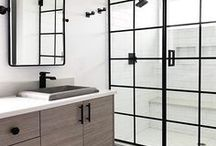 BEAUTIFUL BATHROOMS / Ideas and beautiful designs to help kick off your next bathroom renovation project. A collection of bathroom inspiration that will leave you envious and wanting to update your ensuite. Statement-making bathroom ideas that add a dash of elegance and style to any powder room or master bath.