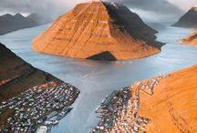 Färöer-Inseln / Tolle Natur und Landschaft. Die Färöer Inseln steht bei mir ziemlich weit oben auf der Bucketlist.