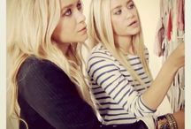 all things mary-kate & ashley. / olsen style.  / by marlo s.