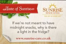 Sunrise Quotes / A collection of our favorite and most inspiring quotes, all hand picked by Sunrise. New quotes uploaded weekly. Let us know your favourites / by Sunrise Senior Living UK