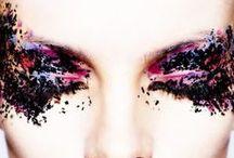 crazy runway makeup and hair