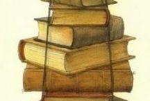 Kirjoja, böcker, books
