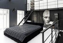 Bedroom Design / Inspiration for a bedroom look.