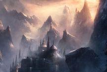 Fantasy Landscapes and Scenes