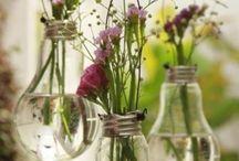 Blomsterideér. Flowers. / Fun, unique flowers arrangement ideas and more.