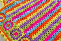 Crochet for Blanket and Pillow