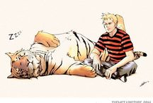 Calvin and Hobbes / by Emily Lehman