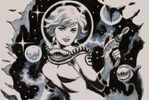 Retro Scifi / Retro Future, Sci-fi inspirations / by Benjamin Tolmie