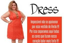 Moda Plus Size -Dress / Vestidos Plus
