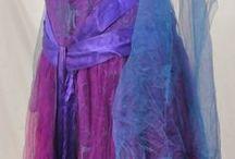 001. Фиолетовые, сиреневые, лиловые платья.