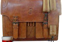 Aktentaschen aus Leder für Herren / Herren Aktentaschen aus braunem Leder im Old Used Look von BARON von MALTZAHN