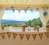 Marquee Weddings / Marquee weddings for all seasons and inspirations