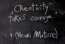 Creatività / Ispirazioni creative che a me sono piaciute.