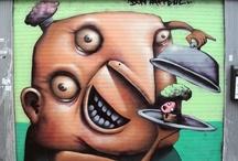 Murales / Arte di strada - creatività temporanea che ci arriva grazie alla fotografia.