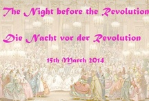 Night before the Revolution / Let's party like it's 1789! A moodboard for Nehelenia's extravagant event! Our epic masked ball took place at Castle Körtlinghausen in Rüthen, Germany on March 15th, 2014. Thank you to all who joined us!