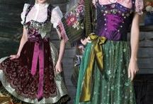 Costumes / National or regional outfits of various countries, dance couture and party costumes