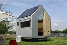 Diogene - Renzo Piano / 6 metri quadri, una unità abittiva completa e indipendente praticamente nelle dimensioni di una roulotte.