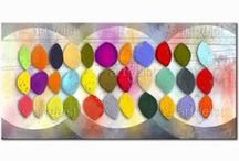 Cuadros abstractos modernos / Interesantes cuadros abstractos modernos cambiarán el look de tu casa #cuadro #cuadros #fotos sobre lienzo #fotos #sobre #lienzo #abstractos