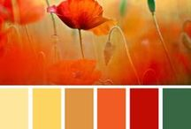 Colours and combos / Colours I like to decorate, craft or design clothing with