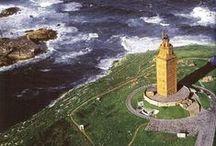 Torre de Hércules / La Torre de Hércules es el faro romano más antiguo del mundo y el único que se conserva en servicio. //The Tower of Hercules is the oldest Roman lighthouse in the world and the only one that remains in service.