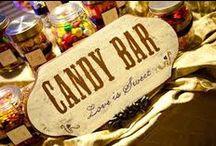 Caramellata - Confettata - Candy Bar / Un'idea originale, un trend 2014, un dolce ricordo per i tuoi ospiti