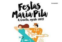Festas de María Pita / En las fiestas de verano de A Coruña puedes disfrutar de música al aire libre, la mejor gastronomía, ferias, artesanía...Además de todos los atractivos turísticos de la ciudad. ¿Te lo vas a perder?