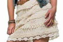 faldas ganchillo