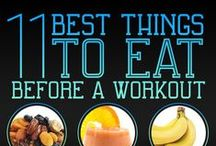 Food & Fitness / Eat clean 99% of the time. Workout and sweat 6 days a week. Live a CLEAN HEALTHY lifestyle.