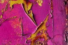 Texturas e Cores / Inspiração na Natureza....