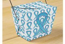 Teal Blue Awareness Ribbon / Methicillin-Resistant Staphylococcus Aureus (MRSA) uses a teal blue awareness ribbon.